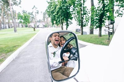 Golf Cart Wedding Photo Ideas