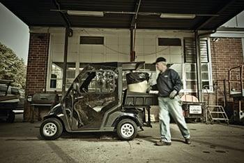 Golf Cart Security Tips