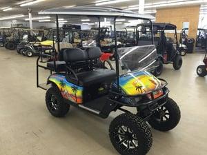 Margaritaville Customized Cart