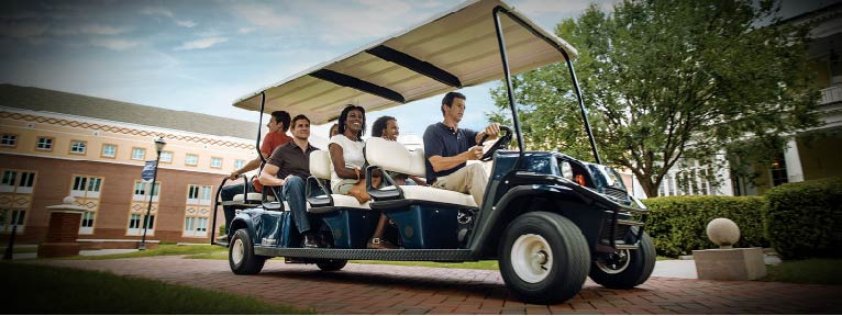 Golf Carts for Corporate Events