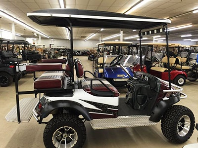 Go With Garrett's Golf Cars Specialty Vehicles Columbia SC