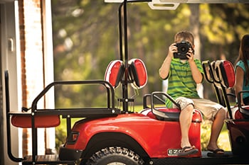 Gas Vs. Electric: Which Golf Cart is Right For You? From Garrett's Discount Golf Cars!