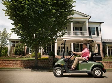 Golf Carts in the Neighborhood by Garrett's Discount Golf Cars
