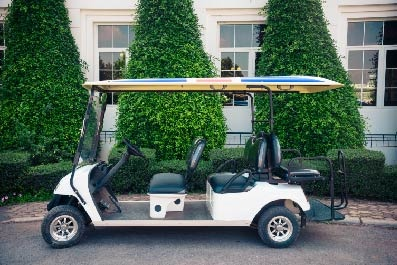 5 Clever Ways to Use a Golf Cart in Your Wedding